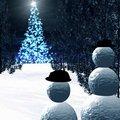 Снеговики | Виртуальные открытки